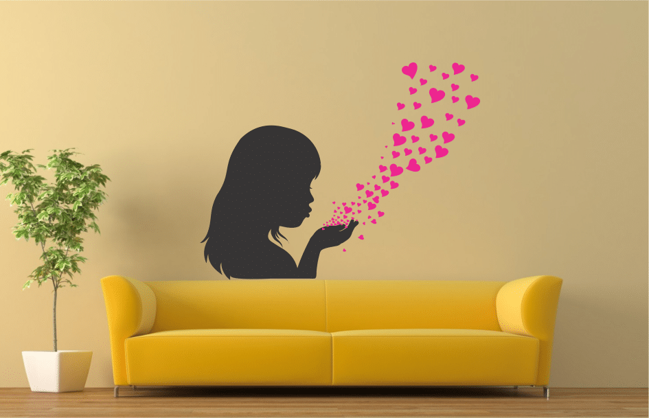 blow sticker decorativ