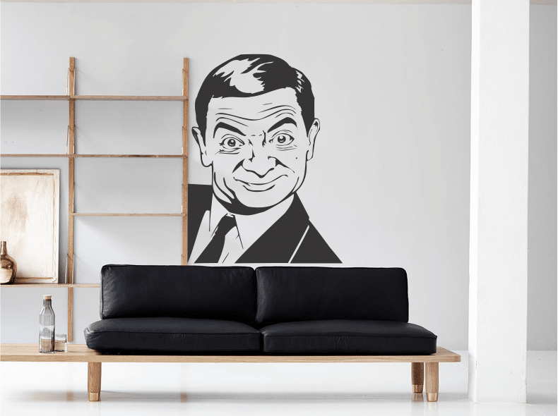 Mr Bean sticker decorativ
