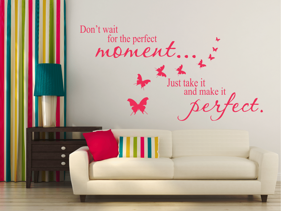 Perfect moment sticker decorativ