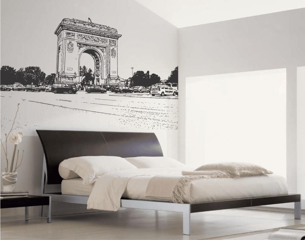 arcul-de-triumf-sticker-decorativ