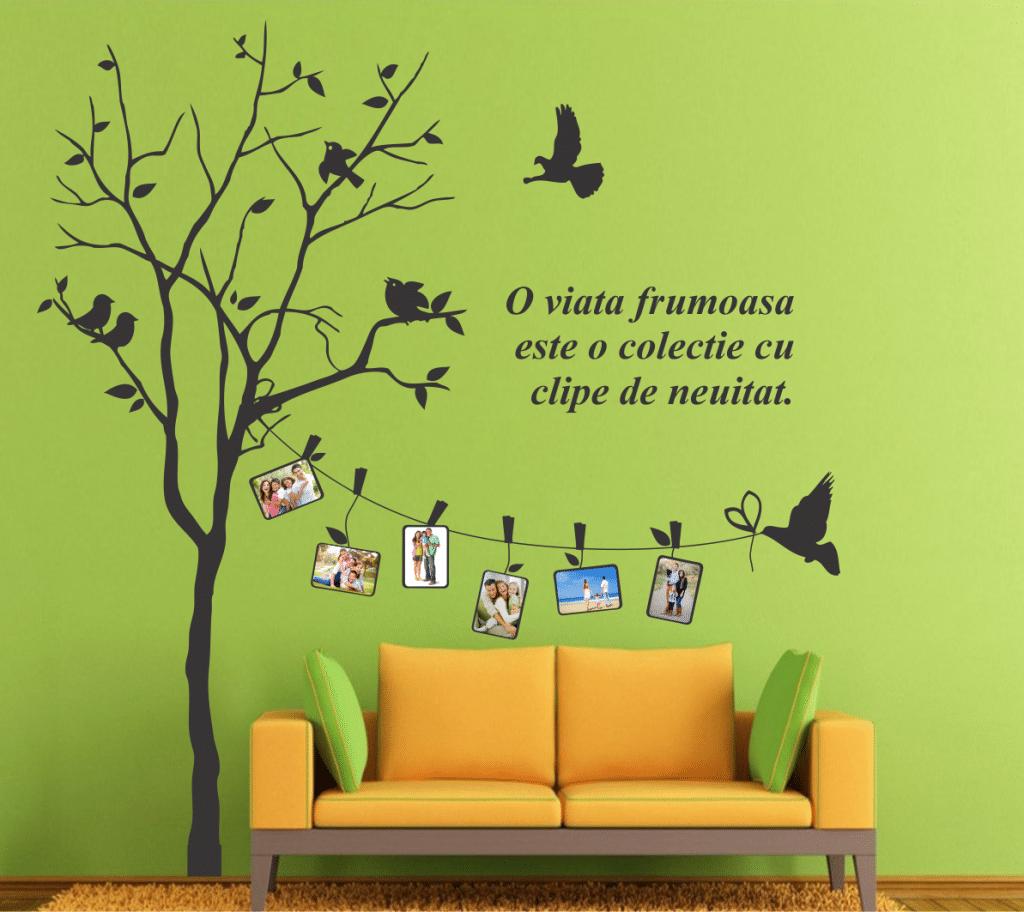 Copac Amintiri 03 autocolant perete