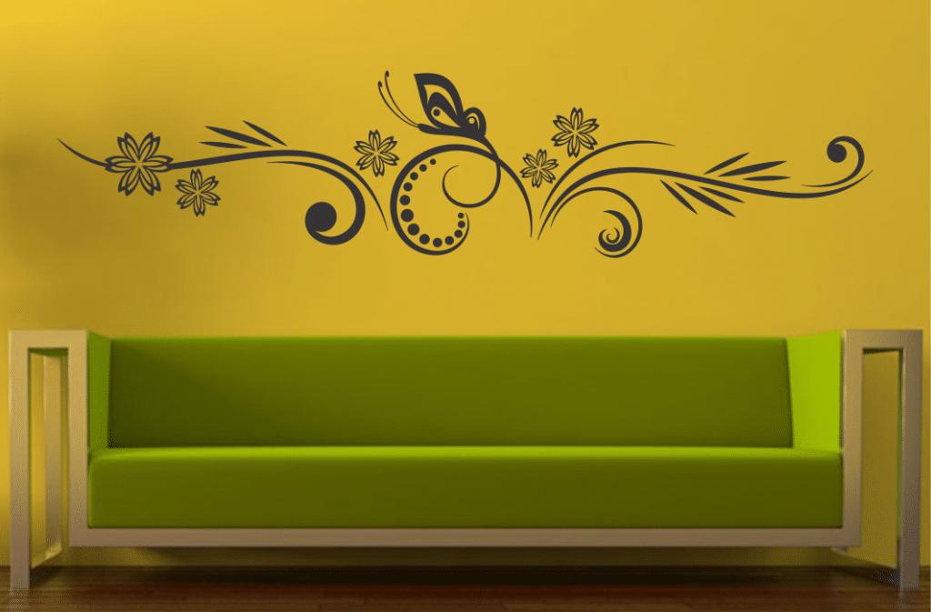 Autocolant perete Floral 05