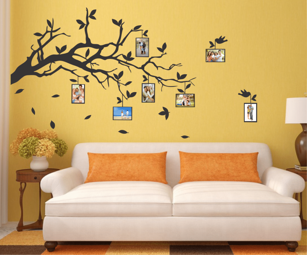 Creanga cu amintiri sticker decorativ