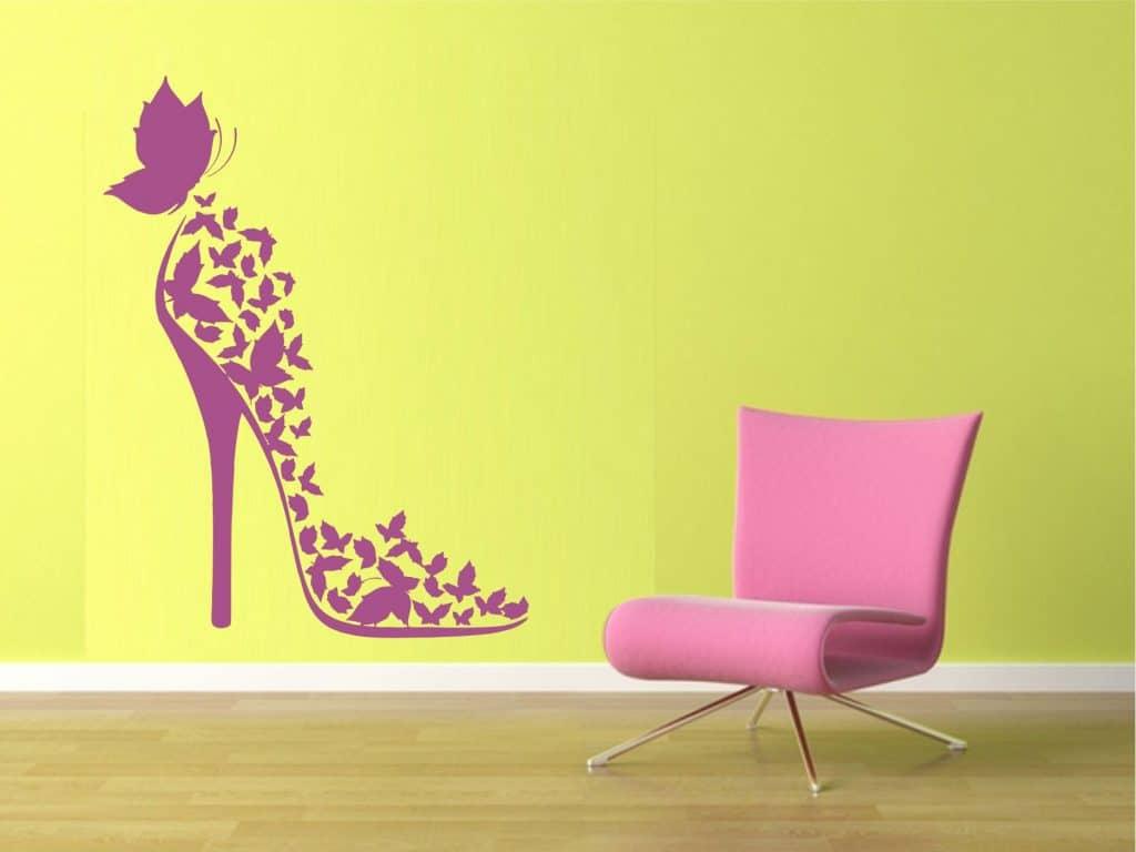 Fashion Butterfly sticker decorativ