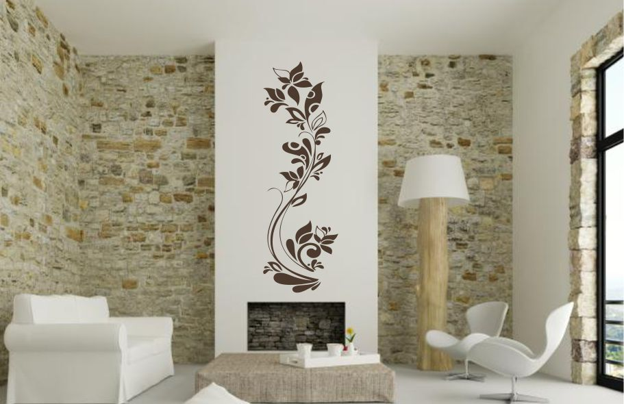 Sticker Decorativ Floral 07
