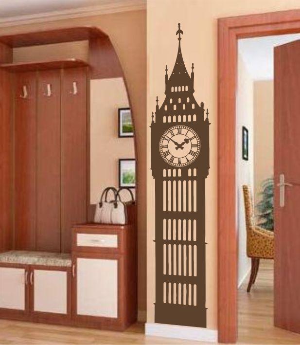 Big Ben sticker decorativ