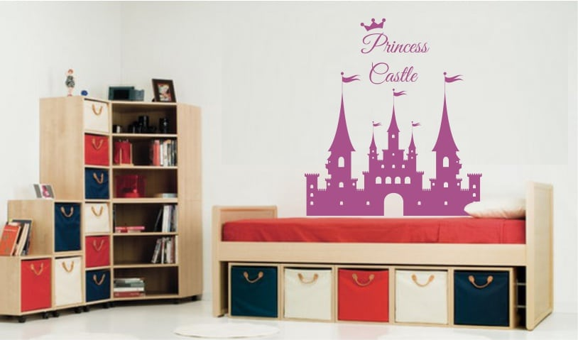 Sticker Decorativ Castelul Fermecat