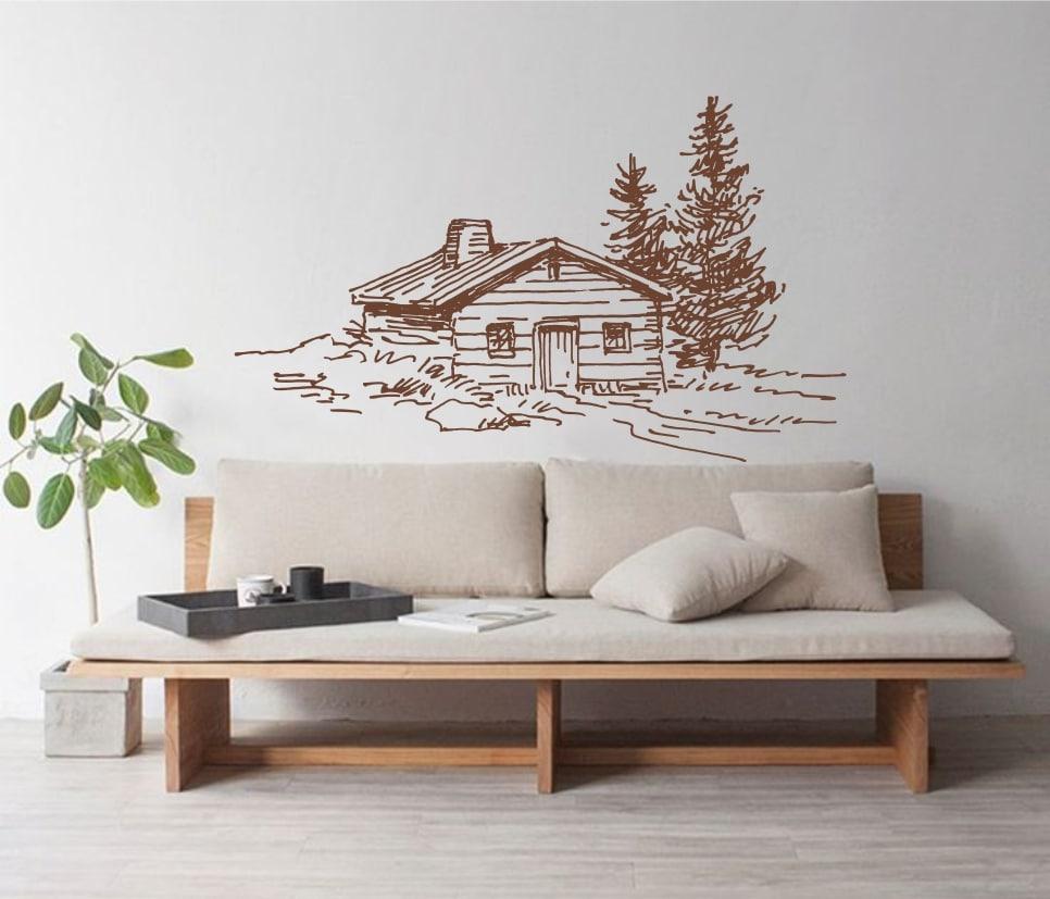 Cabana sticker de perete