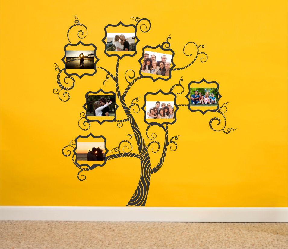Copac Amintiri 04 sticker de perete