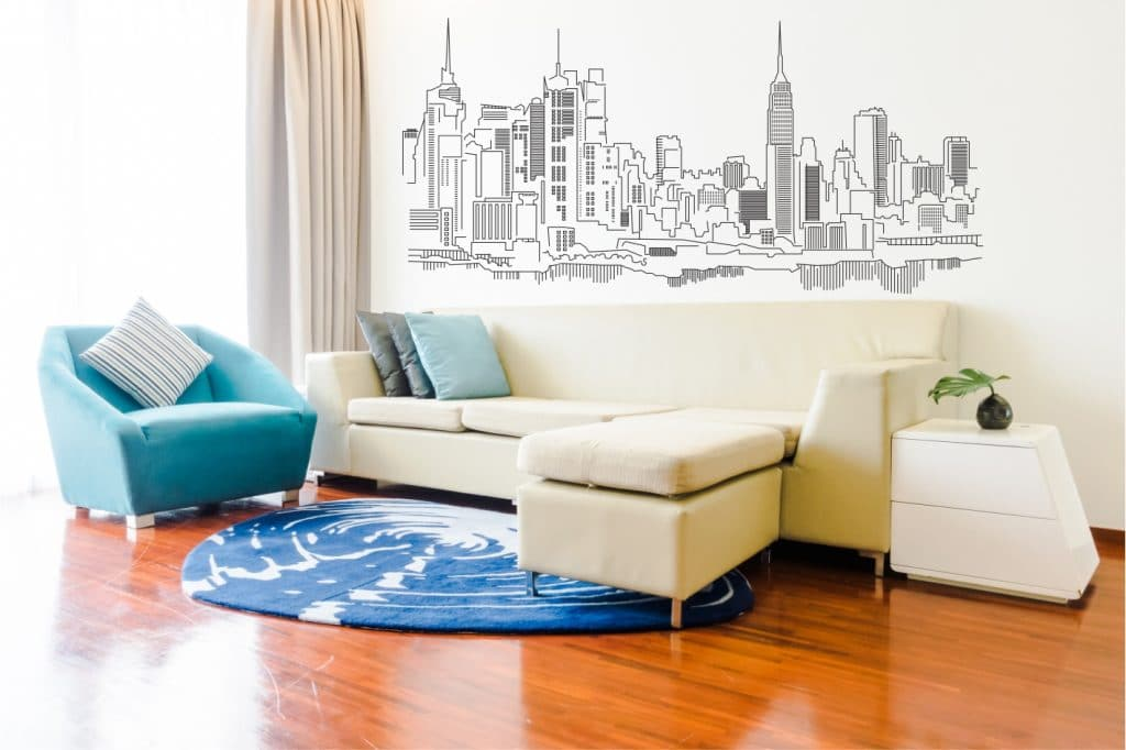 New York sticker de perete
