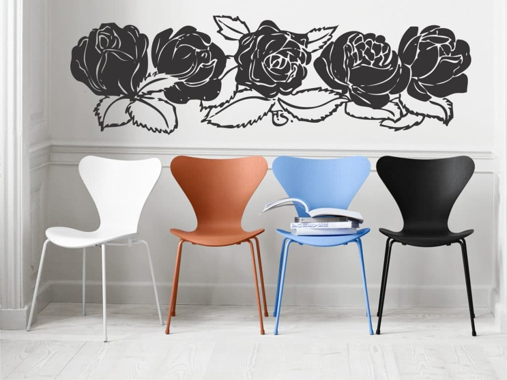 Rose Garden stickere de perete