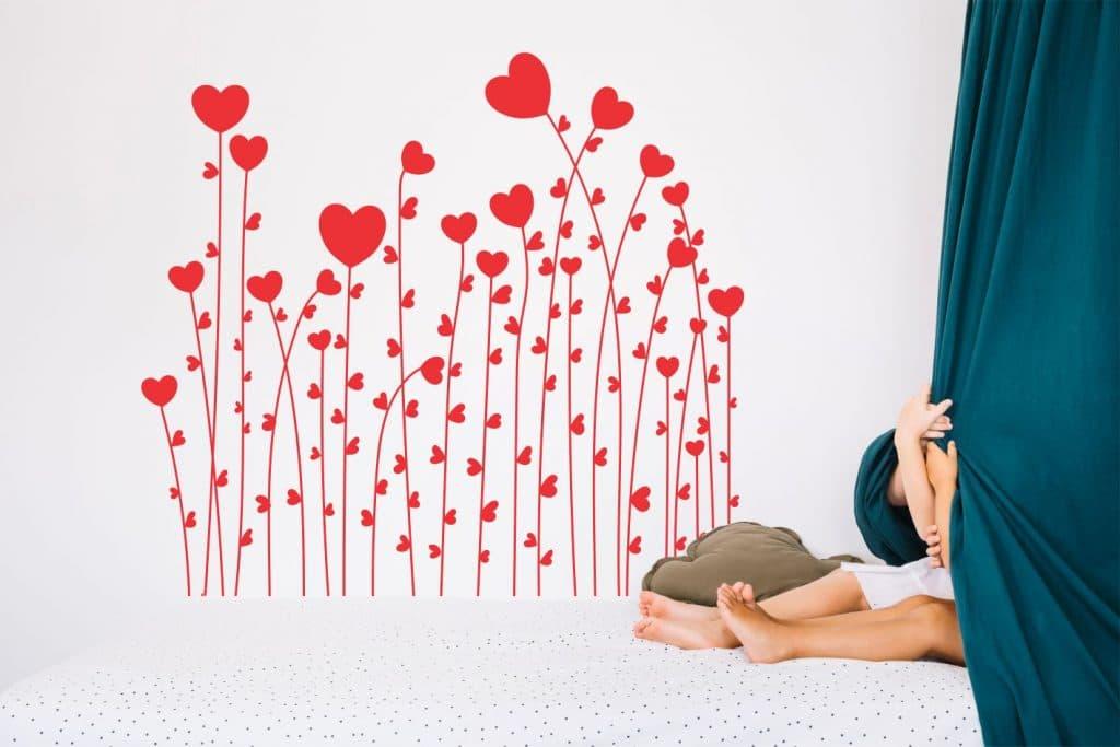 love garden-sticker de perete