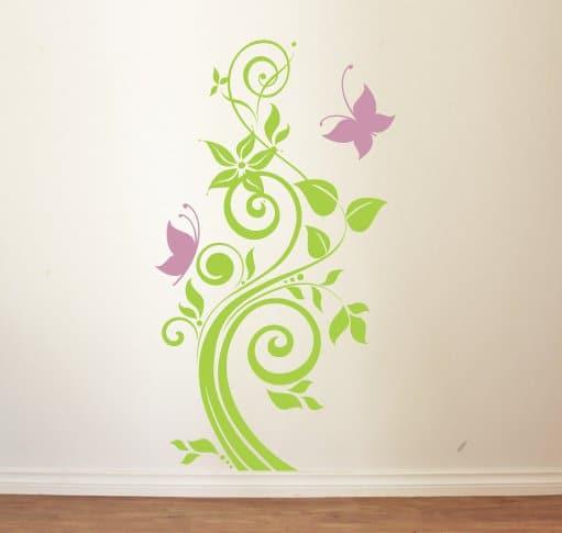 sticker floral 12