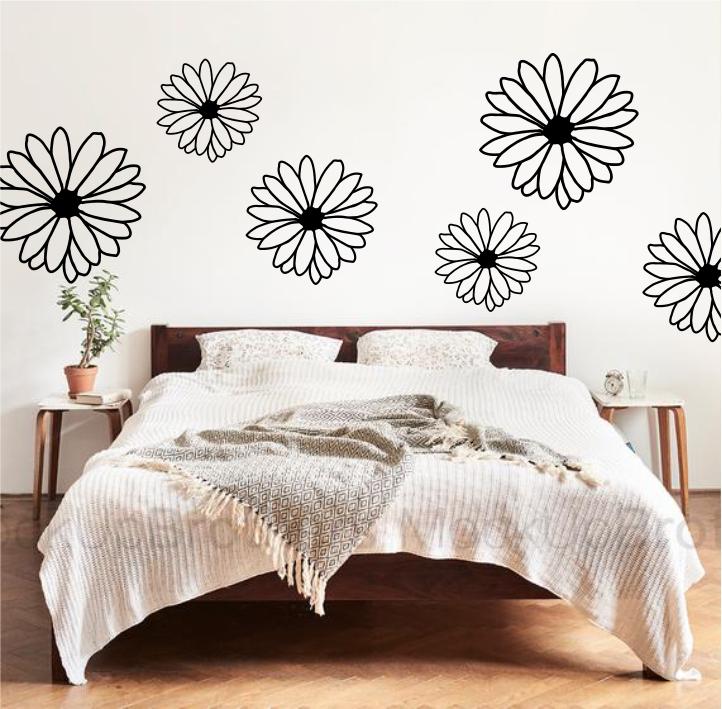 Set Floral sticker de perete