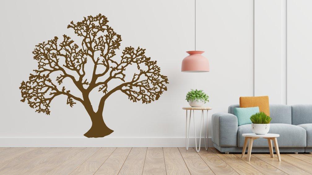 Old Tree sticker decorativ